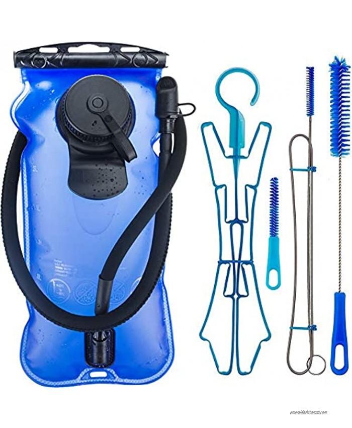 WACOOL 3L 3Liter 100oz BPA Free EVA Hydration Pack Bladder Leak-Proof Water Reservoir