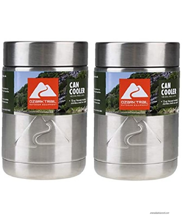 Ozark Trail 12 Ounce Double Wall Can Cooler Cup Set of 2