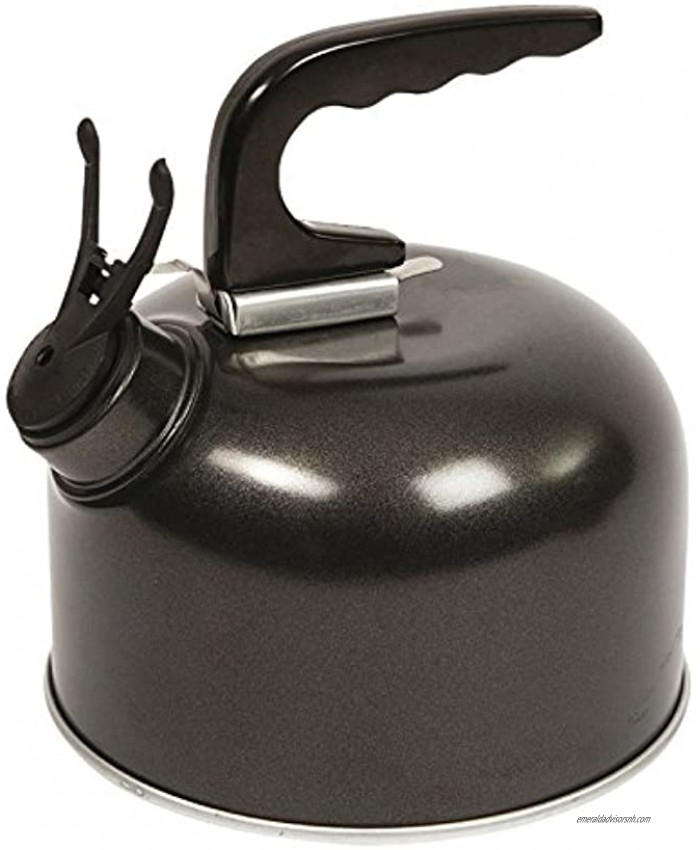 Camp-Gear Whistling kettle coated aluminium 1 ltr