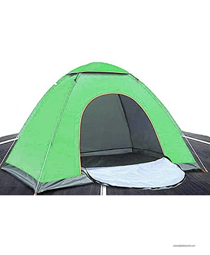 Camping Tent,Instant Automatic pop up Family Dome Tent 2-3 Persons Lightweight Beach Tent Waterproof Windproof UV Protection,Backpacking Tent Shelter Perfect for Traveling,Mountaineering,Hiking