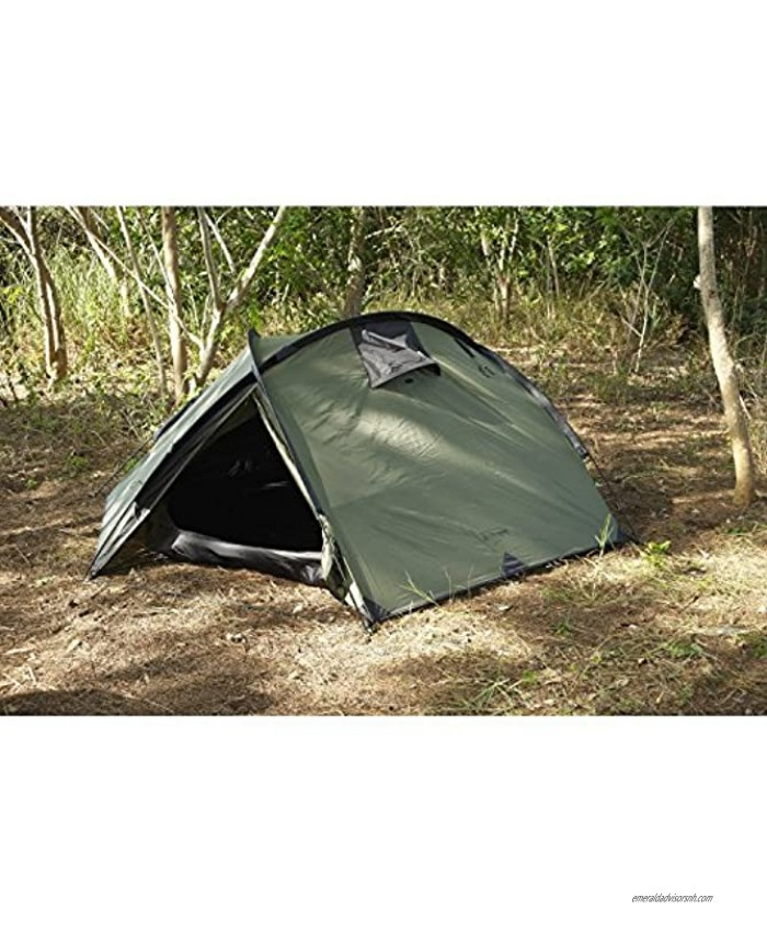 Snugpak Bunker 3 Person Tent and Tactical Shelter Waterproof Olive