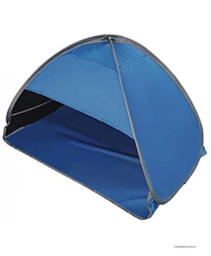 CALIDAKA Po pup Beach Tent Sun Shelter Automatic Canopy Shade Portable Sun Shade Instant Tent Window Ventilationfor Outdoor Beach Camping Fishing Hiking Windproof Water Proof with Carry Bag
