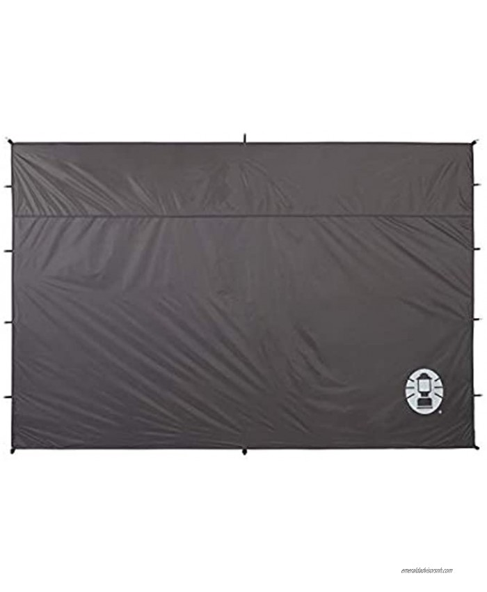 Coleman Sunwall Accessory for 10x10 Canopy Tent   Sun Shade Side Wall Accessory to Block Sun Wind and Rain