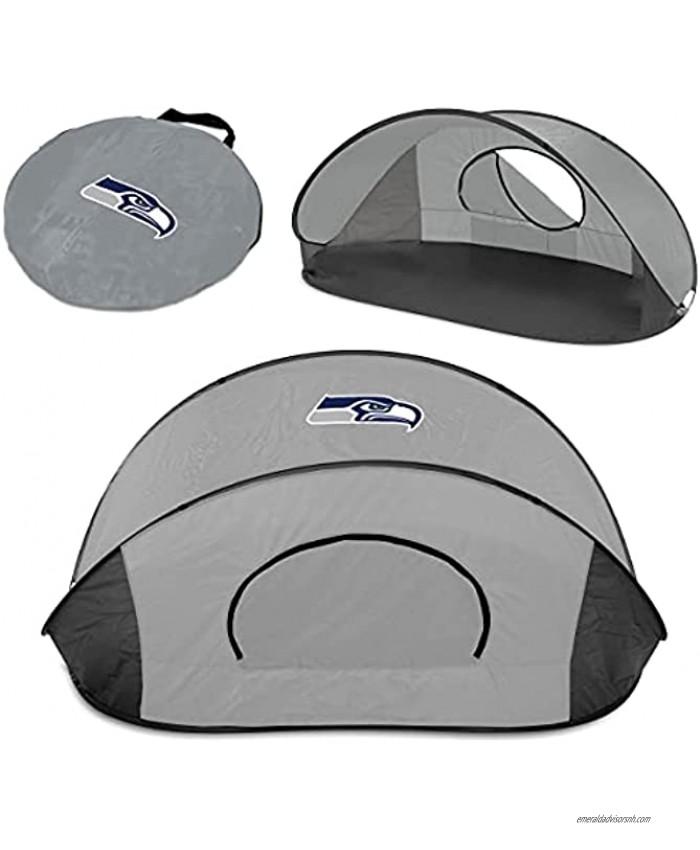 PICNIC TIME Gray Seattle Seahawks Manta Sun Shelter