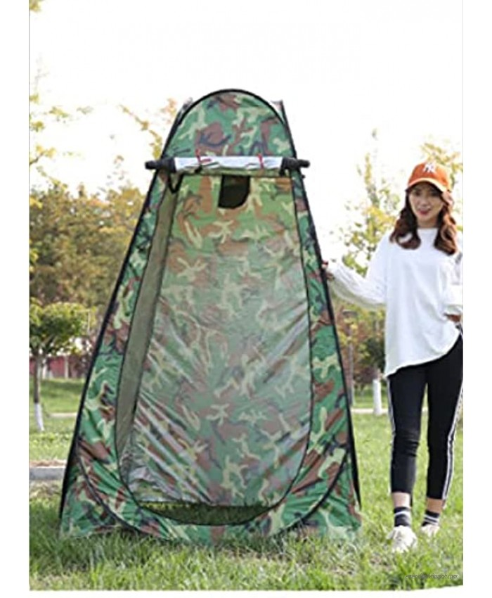 N P Vesani Portable Outdoor Foldable Bathroom Shelter Toilet Shower Tent Changing Dressing Room for Camping Swimming Lightweight Easy Setup Waterproof Easy Storing