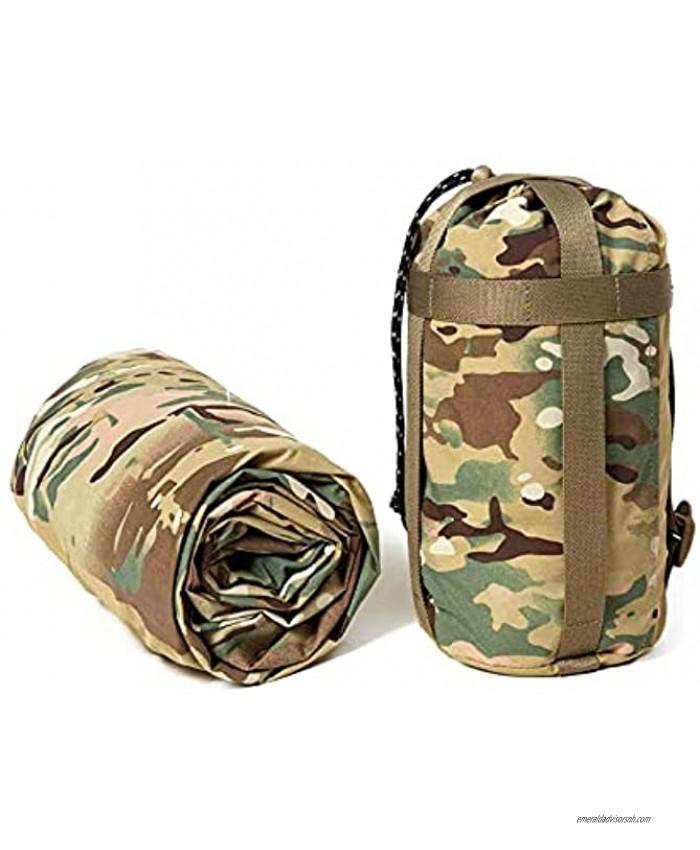 Akmax.cn Bivy Cover Sack for Military Army Modular Sleeping Bags Multicam Camo Woodland