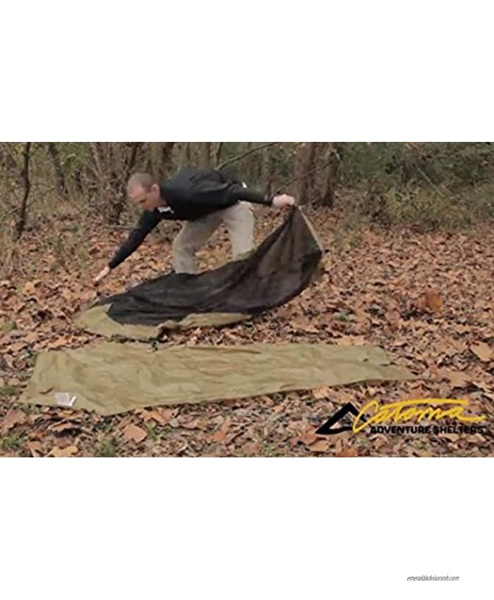 Raider Solo Tent Ground Sheet Footprint