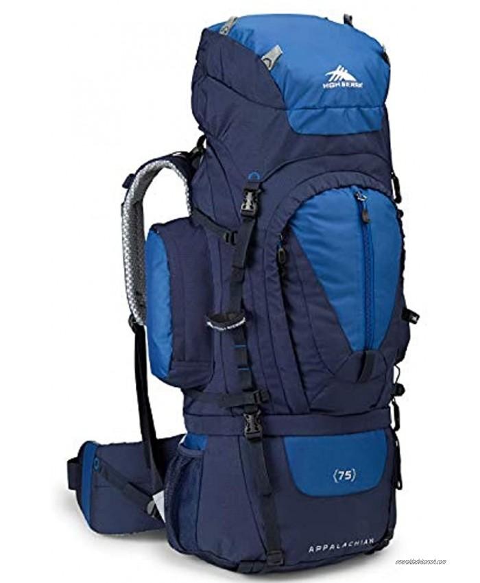 High Sierra Appalachian Top Load Internal Frame Hiking Pack True Navy Royal True Navy 75-Liter