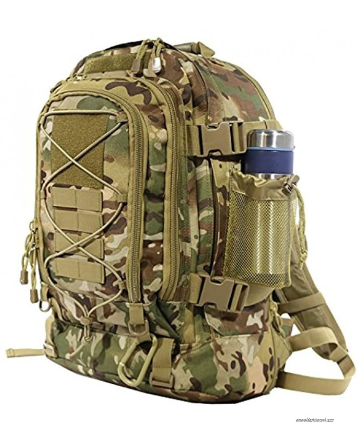 Military Tactical Backpack,Army Molle Assault Rucksack Travel by ARMYCAMOUSA